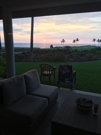 Mauna Lani Point: View from our living room