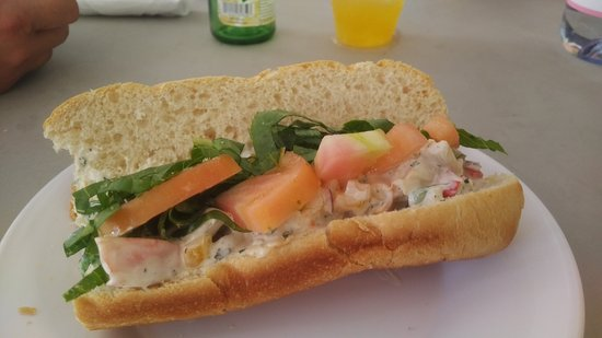 Saint Mary Parish, Antigua: Lobster Roll