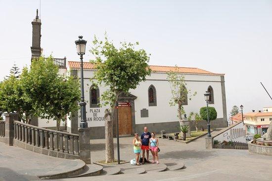 Firgas, Spania: Igreja San Roque