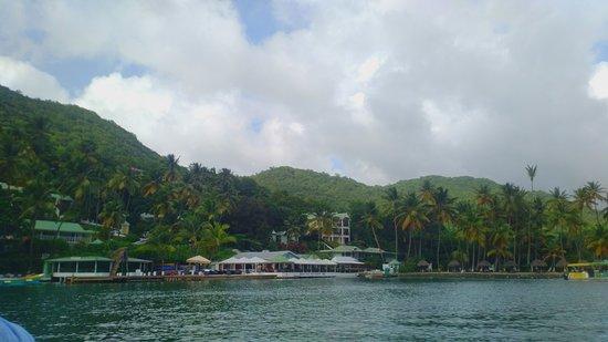 Vieux Fort, Saint Lucia: Views