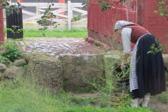 Den Fynske Landsby: Fermière