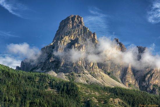 Alta Badia, Italien: Sassongher da Corvara
