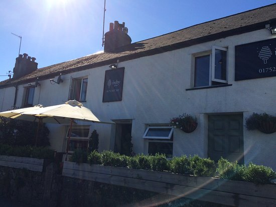 Plympton, UK: Pub in Sparkwell