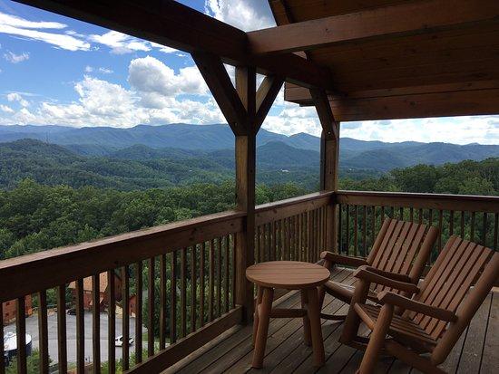Starr Crest Resort: Loft Balcony
