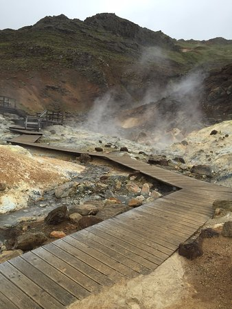 Hvolsvollur, İzlanda: Geo-thermal springs