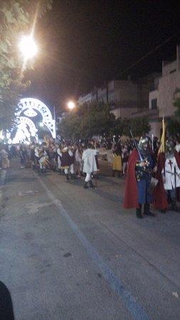 Bernalda, อิตาลี: Street parade San Bernardino
