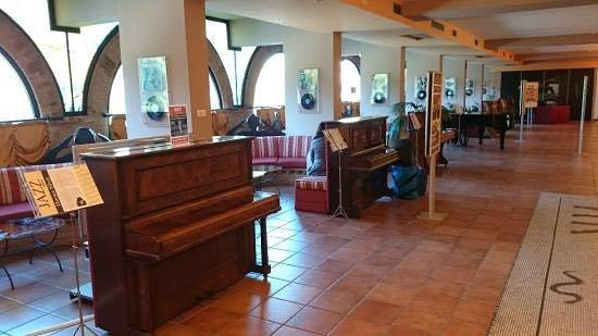 Hotel Gio' Wine e Jazz Area: לובי