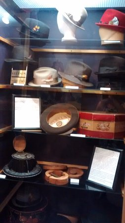 Hats from old factory in Brockville