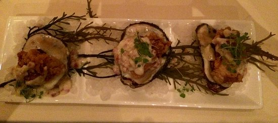 Salacia Prime Seafood and Steaks Restaurant: Delicious Oysters Neptune