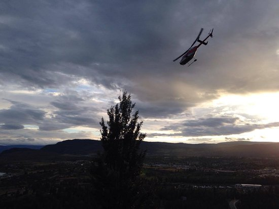 West Kelowna, Canadá: Mission Hill take off