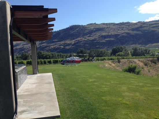 West Kelowna, كندا: Church and State landing