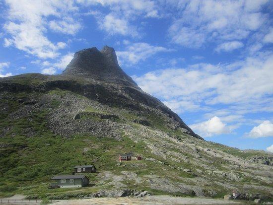 Molde, Noruega: Горы у Дороги Троллей