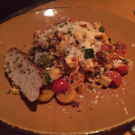 Frank & Alberts - The Arizona Biltmore: Vegetarian pasta