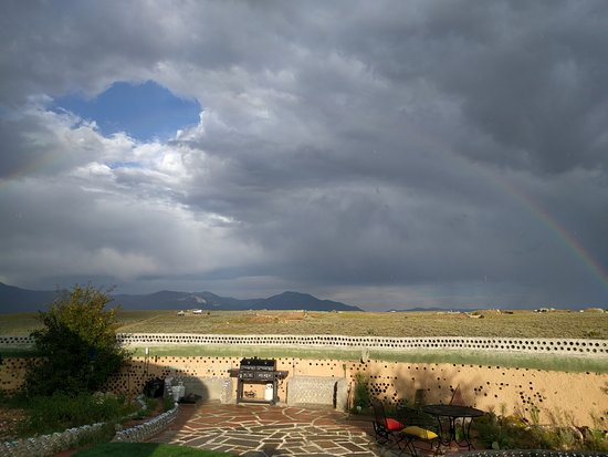 Earthship Biotecture: view from unit