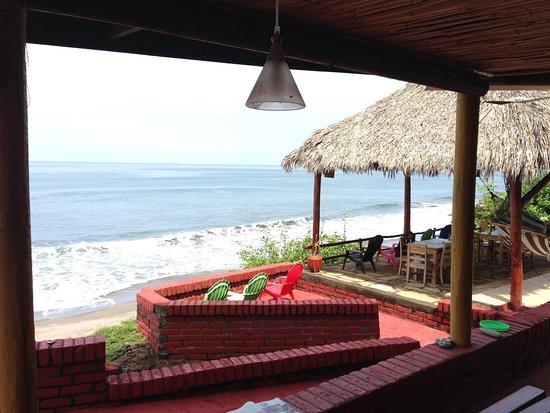 Puerto Sandino, Nikaragua: Best view for every meal