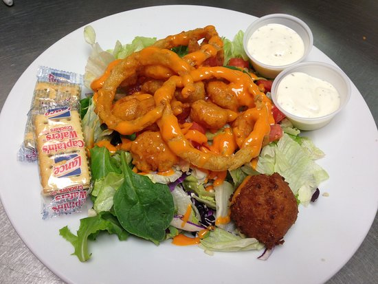 Bainbridge, GA: Buffalo Shrimp Salad