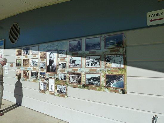 Stanwell Park, Australia: Geschiedenis op de muur