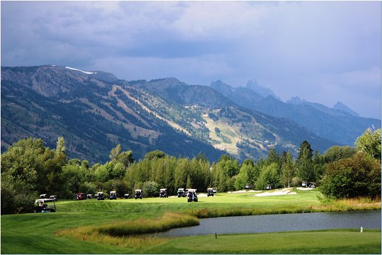 Wilson, Wyoming: On the course