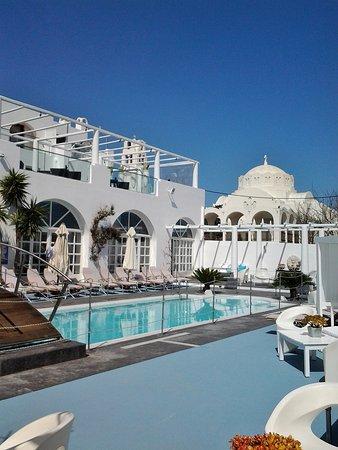 Aressana Spa Hotel and Suites: zona piscina
