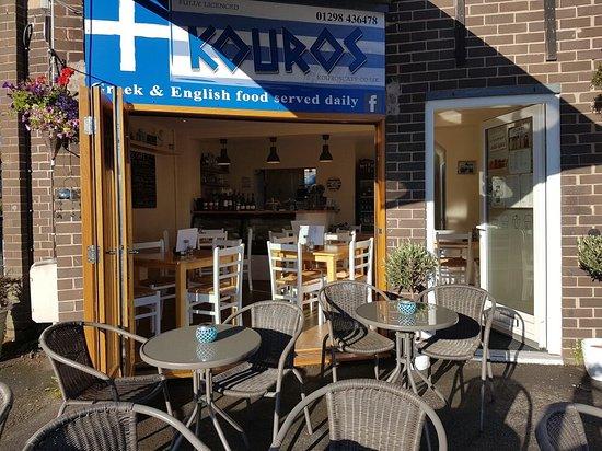 Chapel-en-le-Frith, UK: Kouros Cafe