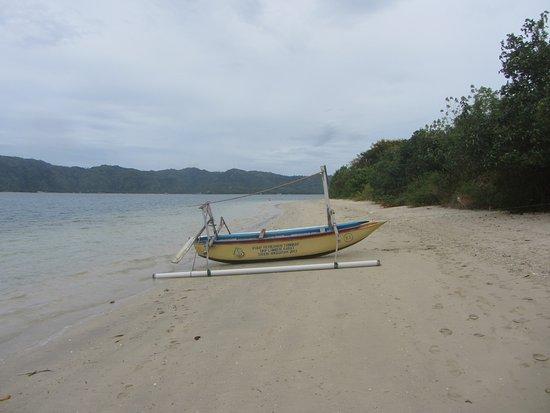 Desa Sekotong Barat, Indonesië: Strand