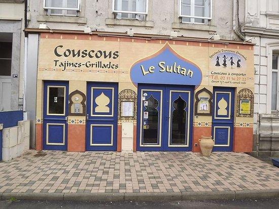 La Roche-sur-Yon, Francia: Façade du restaurant