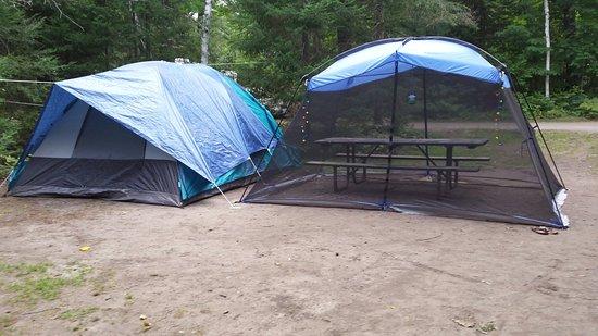 Britt, Kanada: View from our campsite!