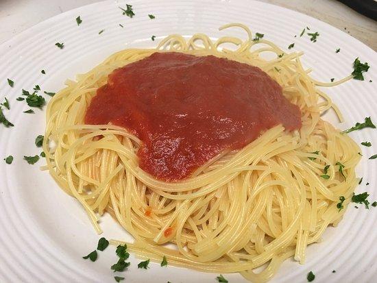 Fairlawn, OH: Spaghetti plate