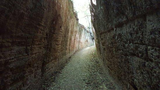 Sovana, Italia: Via Cava