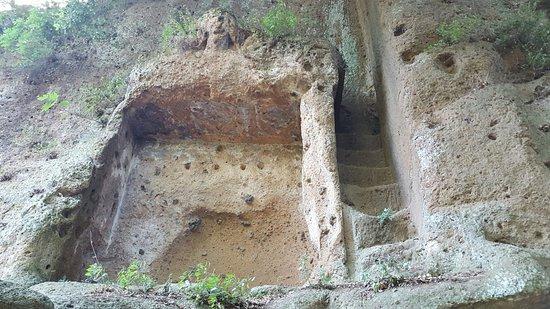 Sovana, Italia: Grób Tyfona
