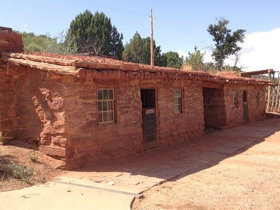 Fredonia, Αριζόνα: Old stone living quarters