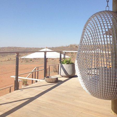 Welgevonden Game Reserve, Republika Południowej Afryki: Terras bij mainlodge