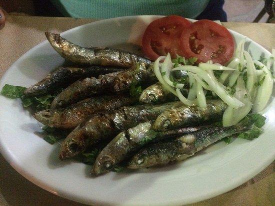 Skala Kallonis, Greece: grilled sardines