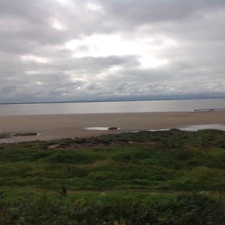 Powfoot Golf Hotel: We had a lovely walk along the beach