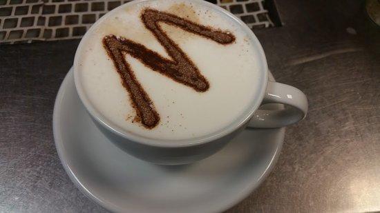 Greenford, UK: Cappuccino coffee