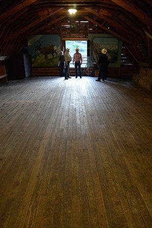 Gallatin Gateway, MT : Square dance barn loft.