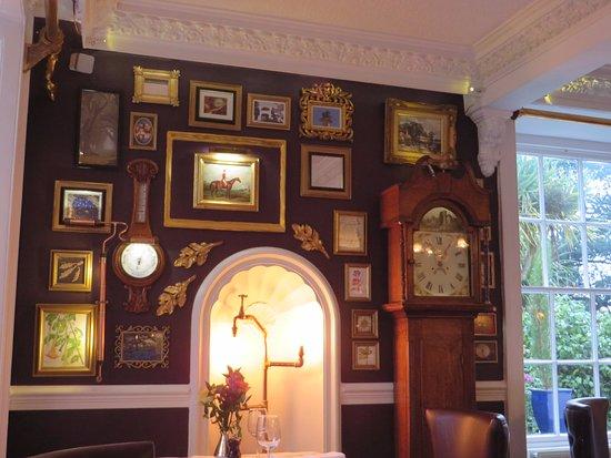 Redruth, UK: Some of the restaurant's lovely decor.