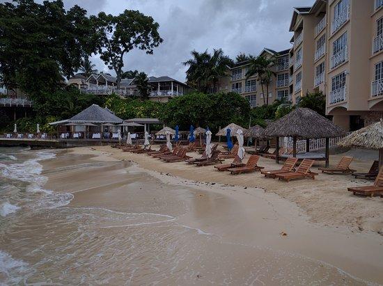 Sandals Royal Plantation: Beach