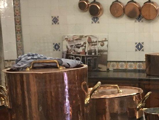 Haarzuilens, Belanda: De keuken in het kasteel.