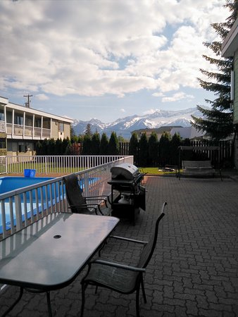 Fernie, Kanada: View from outside our room.
