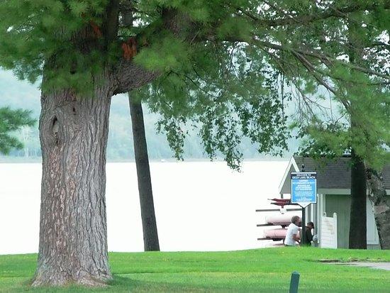 Boyne Falls, MI: Deer Lake (down the private road).