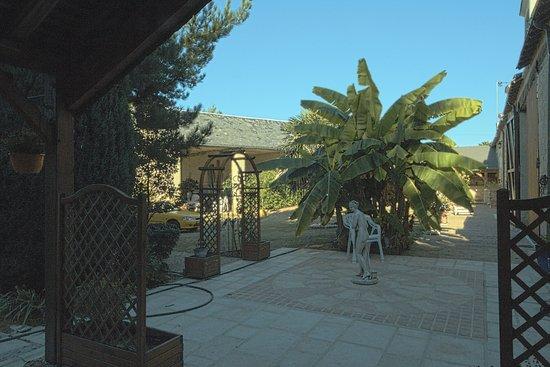 Beaumont-en-Veron, Frankrike: un parc privé agréable pour les clients