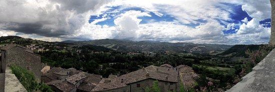 Sant'Agata Feltria, Italië: Panorama dalla Rocca