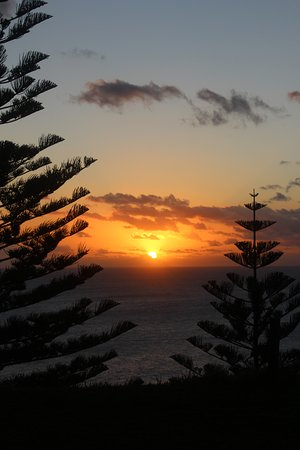 Isole Norfolk, Australia: Sunset at Puppy's Point