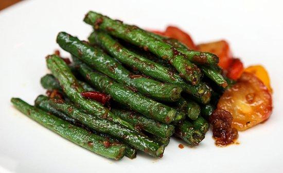 Banana Leaf Malaysian Cuisine: sambal green beans
