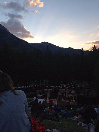 Sundance, Юта: Theater as the sun sets