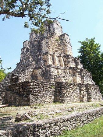 Sul do México, México: Muyil Pyramid
