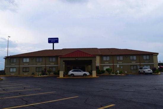 Δυτικό Μέμφις, Αρκάνσας: Hotel Front