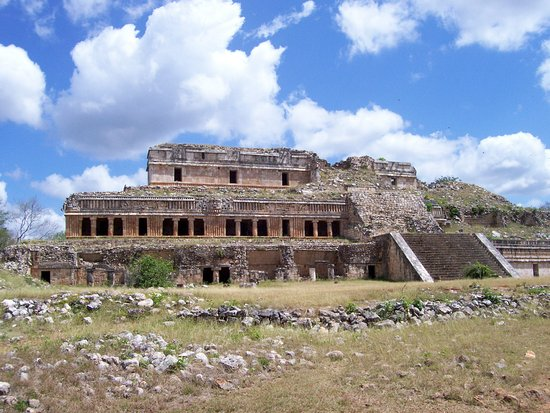 Southern Mexico, Mexico: Sayil the Govenors Mansion