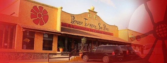 San Juan del Rio, المكسيك: Fachada del Parador Turístico San Pedro